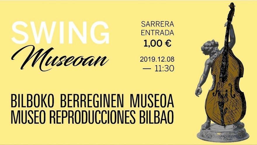 El Museo de Reproducciones Artísticas de Bilbao acoge este domingo una nueva sesión de 'Swing Museoan!'