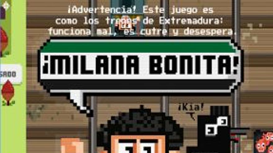 app Milana Bonita tren Extremadura