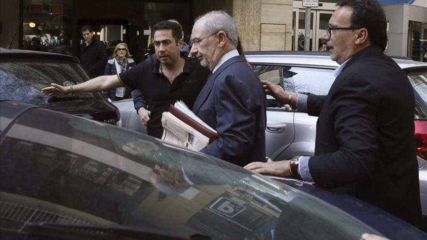 El juez fija una fianza de 18 millones a Rato para desbloquear sus cuentas