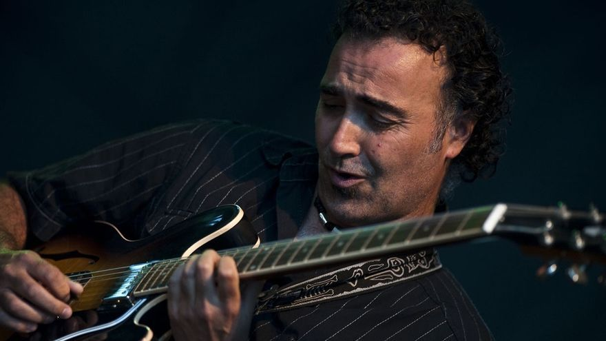 La banda vizcaína Miguel Salvador Trío actúa este sábado en Getxo (Bizkaia)