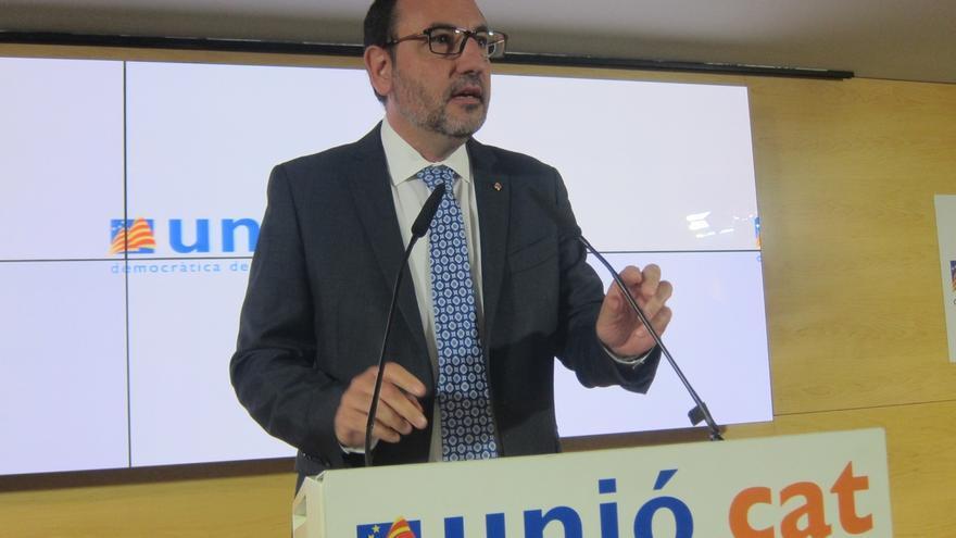 """UDC está """"abierta a hablar"""" la propuesta de Mas pero sin olvidar el modelo social"""