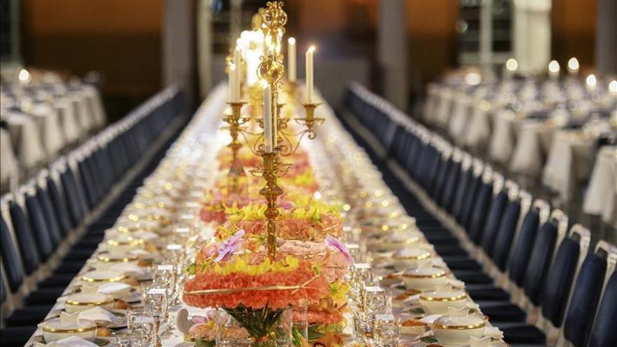 Rodaballo y ternera asada para el banquete de los Premios Nobel