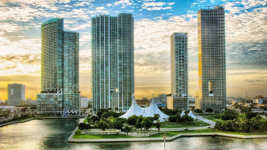 Miami tiene una de las costas más urbanizadas de Estados Unidos.