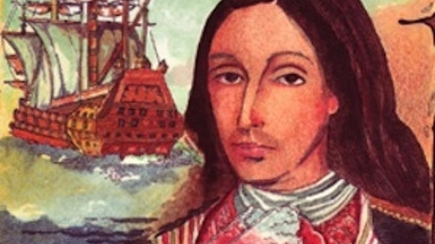 Retrato de Amaro Pargo, el legendario corsario tinerfeño