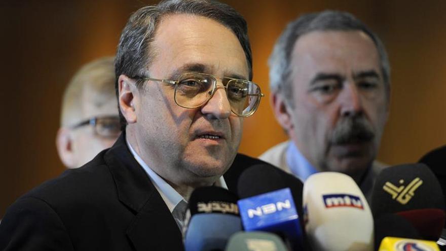 Exteriores ruso citó a embajador de Israel por bombardeos junto a Palmira