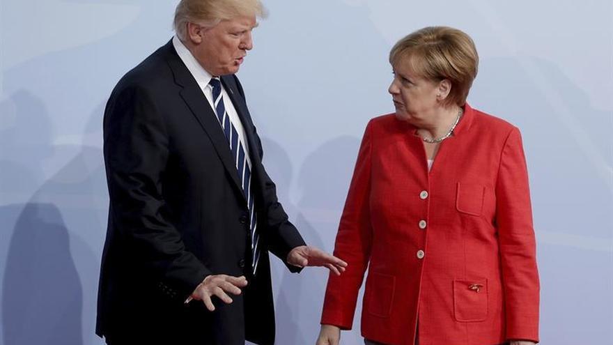 Merkel y Trump abogan por nuevas y severas sanciones contra Corea del Norte