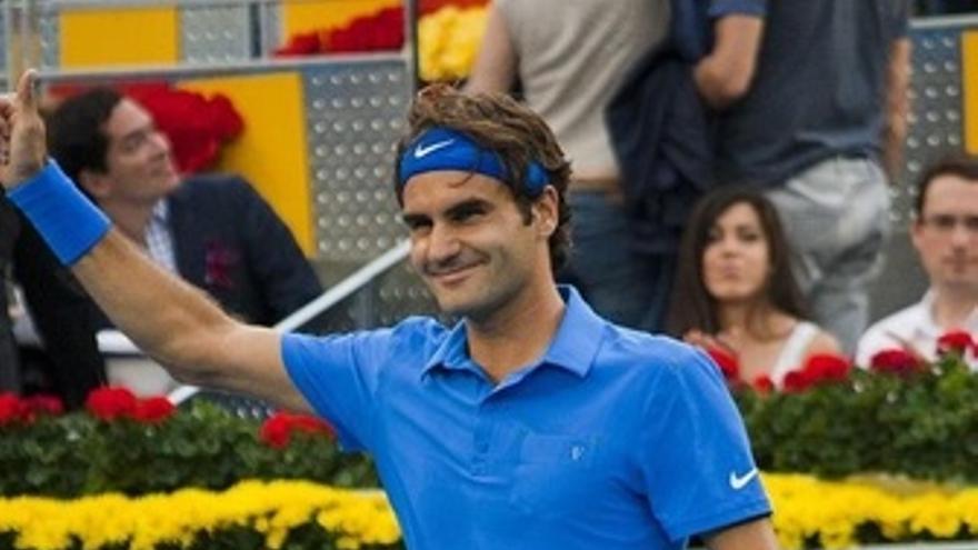 Federer Tras Ganar Las Semifinales En Madrid