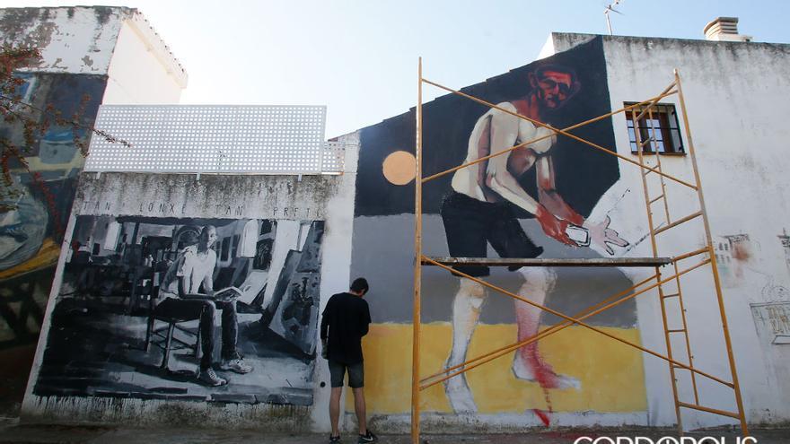 Mural del artista Antonio Viso en Orive | MADERO CUBERO