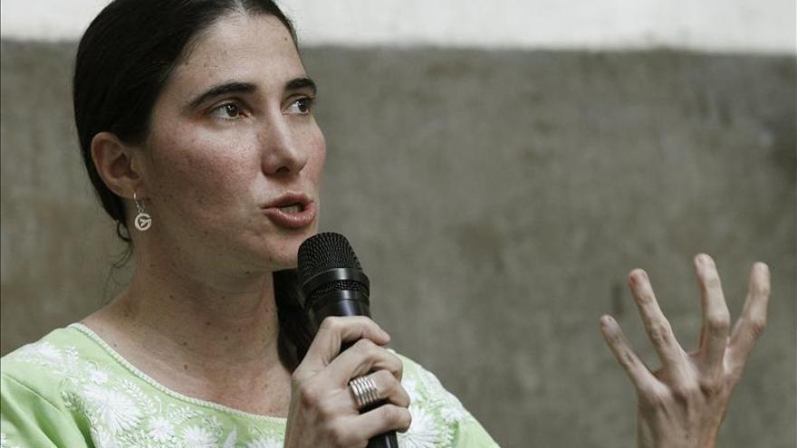 Yoani Sánchez subraya la solidaridad de los diputados españoles con Cuba