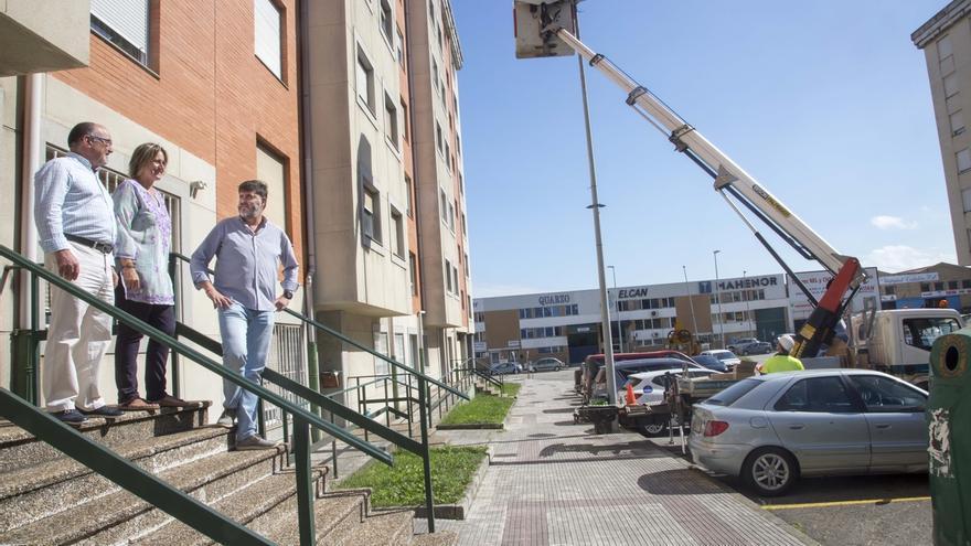 El Ayuntamiento comienza a implantar el nuevo alumbrado público inteligente con tecnología led