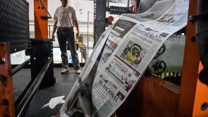 La Justicia venezolana eleva de 13 a 30 millones la multa al diario El Nacional