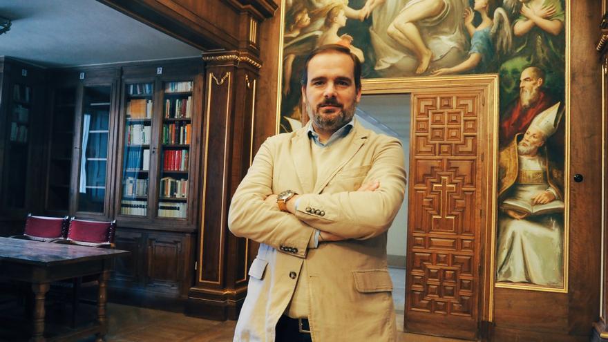 Álex Navajas, director de la Hospedería del Valle de los Caídos