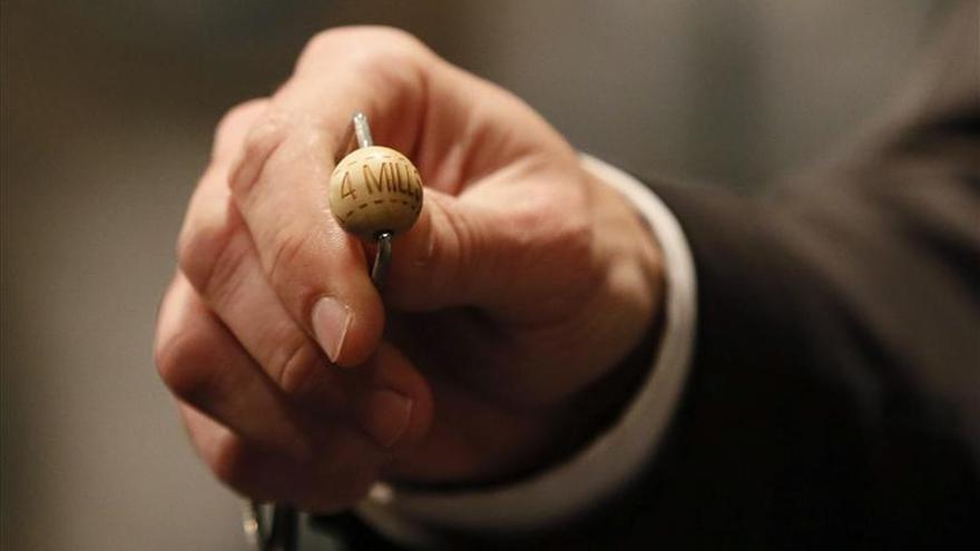 Aumenta la venta de Lotería de Navidad un 4,64 por ciento tras seis años de caídas
