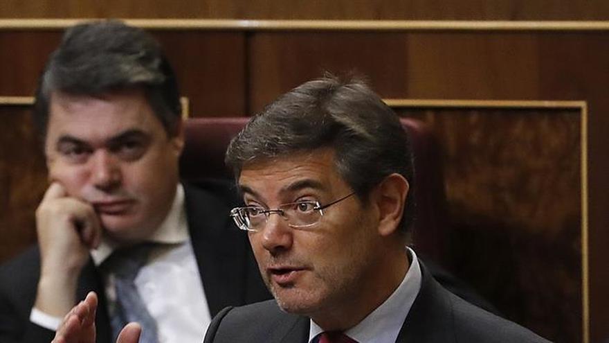 Catalá y el PSOE, dispuestos a dialogar y consensuar las reformas en Justicia