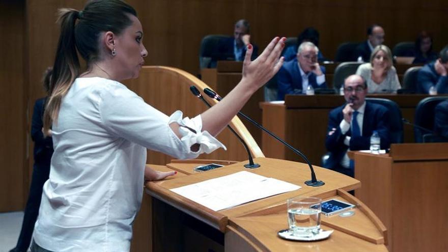 Podemos advierte a Lambán que el veto a su asamblea puede tener consecuencias
