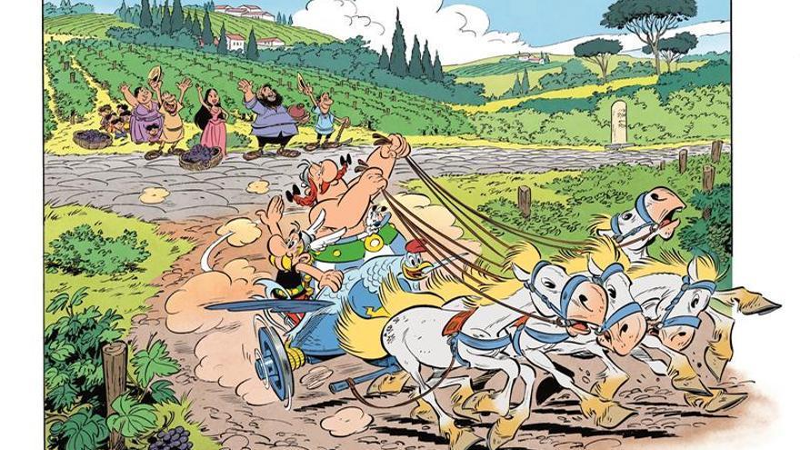 Astérix y Obélix desembarcan en Italia en su próximo álbum