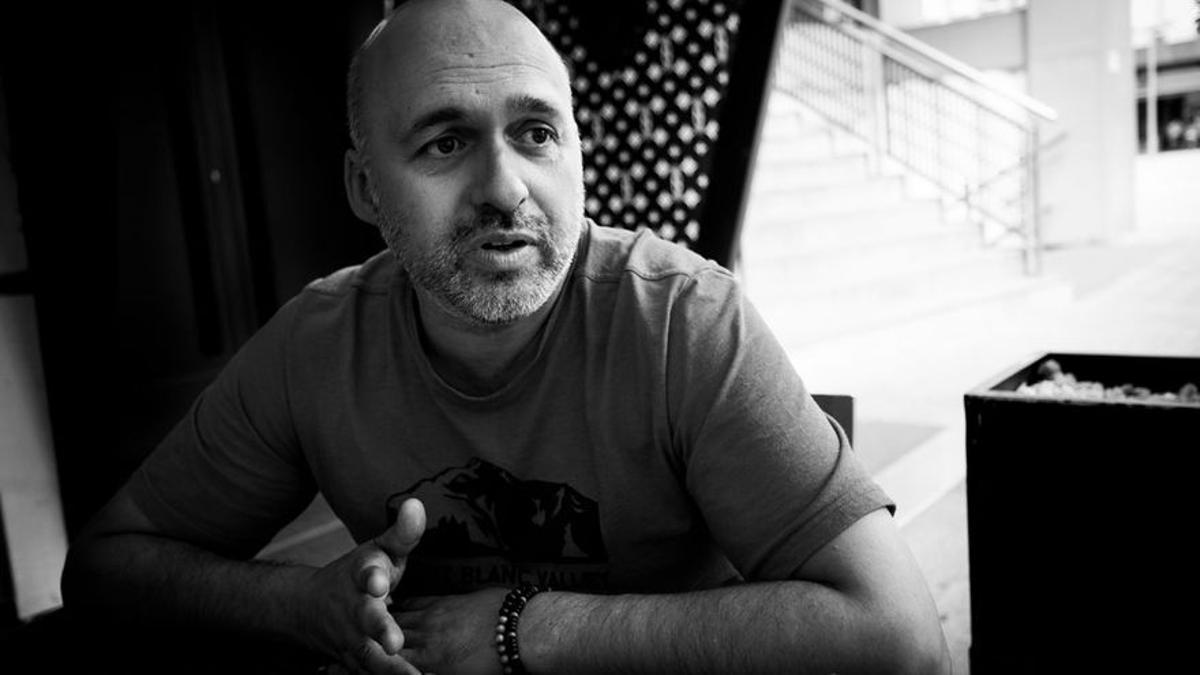 El escritor Nicolás Melini. MANU NAVARRO