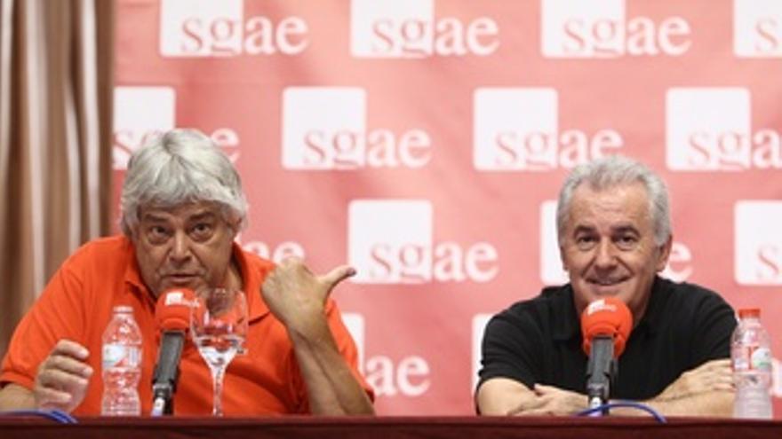 Rueda De Prensa En La SGAE
