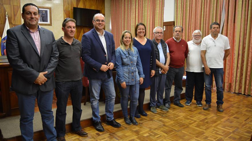 Acto de felicitación a las Escuelas Unitarias de La Palma.