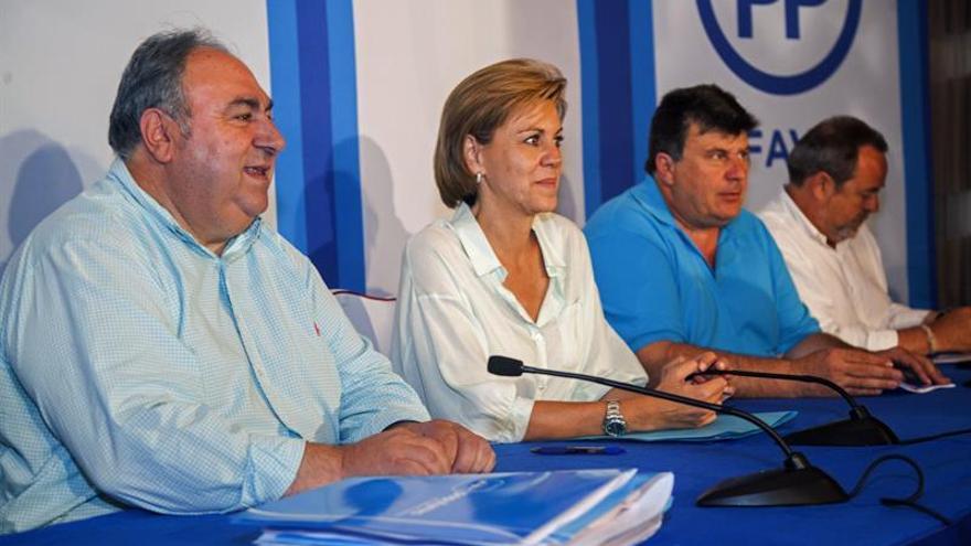 """Cospedal dice que harán """"lo indecible"""" para lograr acuerdos y formar gobierno"""