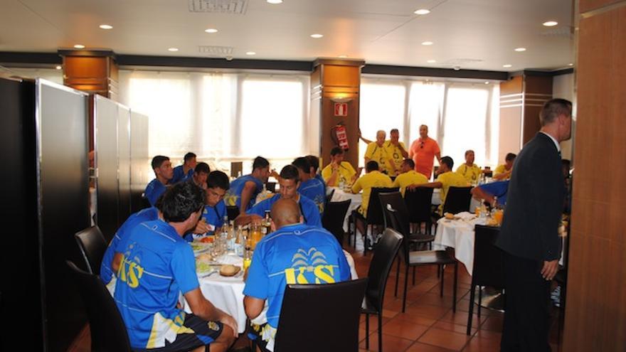 Comedor de la UD Las Palmas