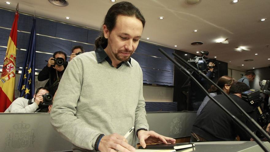 """Pablo Iglesias cree que el PSOE se ha """"inspirado"""" en Podemos para su documento y ve más fácil el acuerdo"""