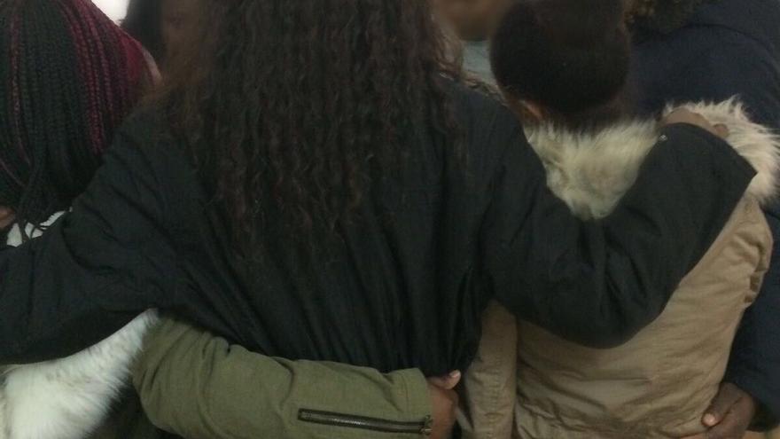Mujeres africanas con residencia en Castilla-La Mancha en una sesión de empoderamiento contra la MGF