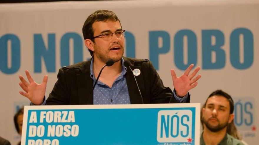 Carlos Callón, candidato de NÓS por A Coruña