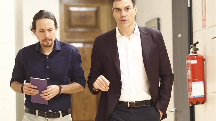 Pedro Sánchez recibe a Pablo Iglesias el jueves en Moncloa
