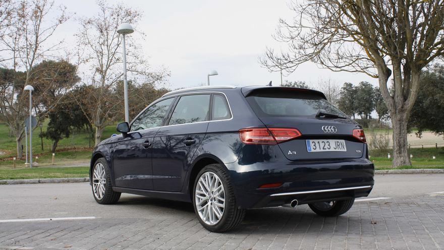 El rediseño exterior del Audi A3 es conservador.