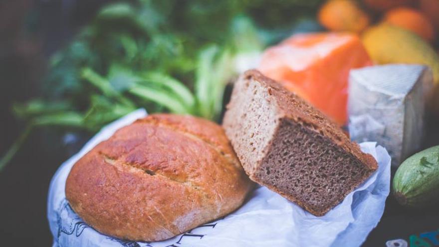 Pan y queso ecológicos