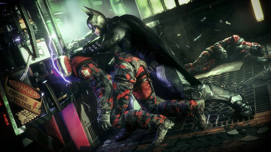 Batman Arkham Knight Gamescom 2014