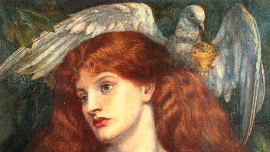 The Damsel of the Sanct Grael (1874)   Dante Gabriel Rossetti