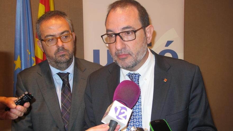 """Espadaler (UDC) lamenta que Rajoy no proponga nada en su visita y alimente el """"frentismo"""""""