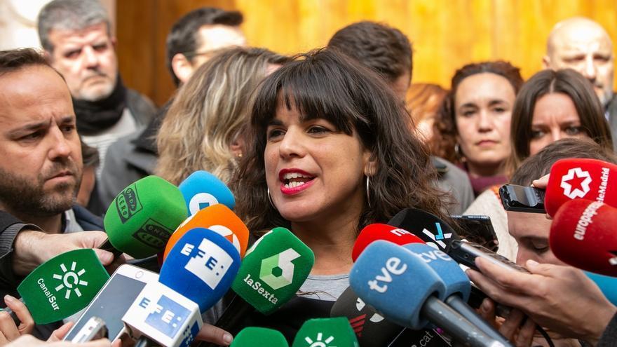 """Teresa Rodríguez ve un """"insulto a víctimas"""" en definir la muerte de Blas Infante como 'fallecimiento por fusilamiento'"""