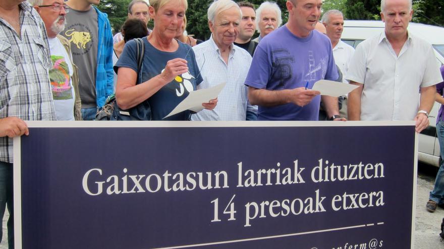 AMP-Los convocantes de la marcha prohibida por la Audiencia Nacional organizan otra en San Sebastián para el sábado