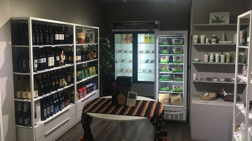 El Jardín de las Hespérides, una tienda dedicada a productos canarios. (Canarias Ahora)