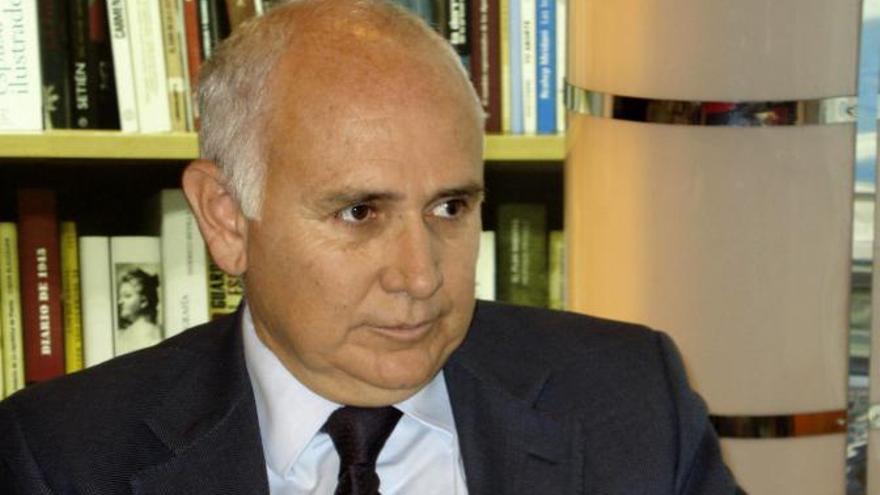 Juan Pablo González González, juez del tribunal de la pieza separada del caso Gürtel sobre la visita del Papa.