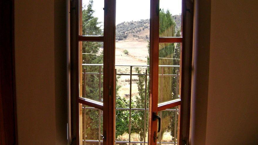Una ventana a Los Monegros (Huesca)