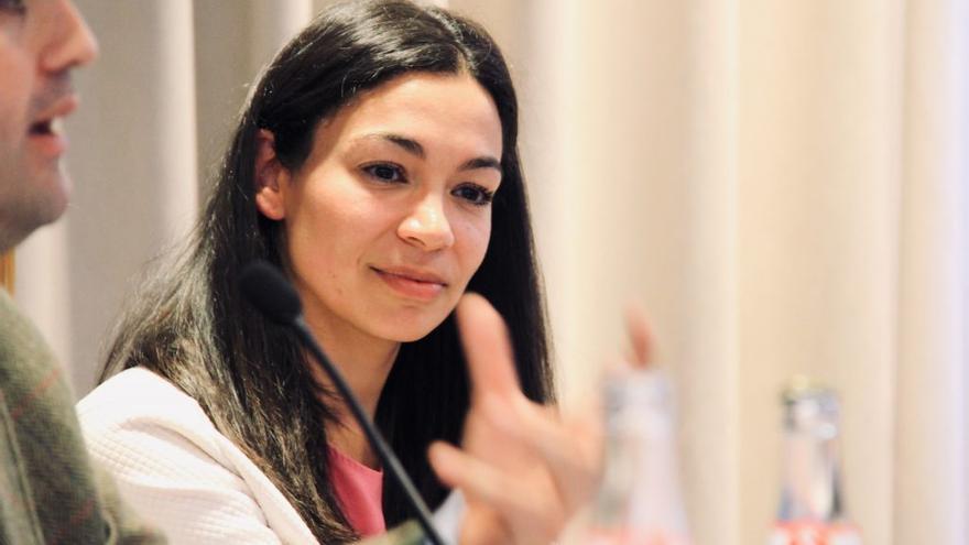 La candidata del PP a la Alcaldía de Toledo, Claudia Alonso