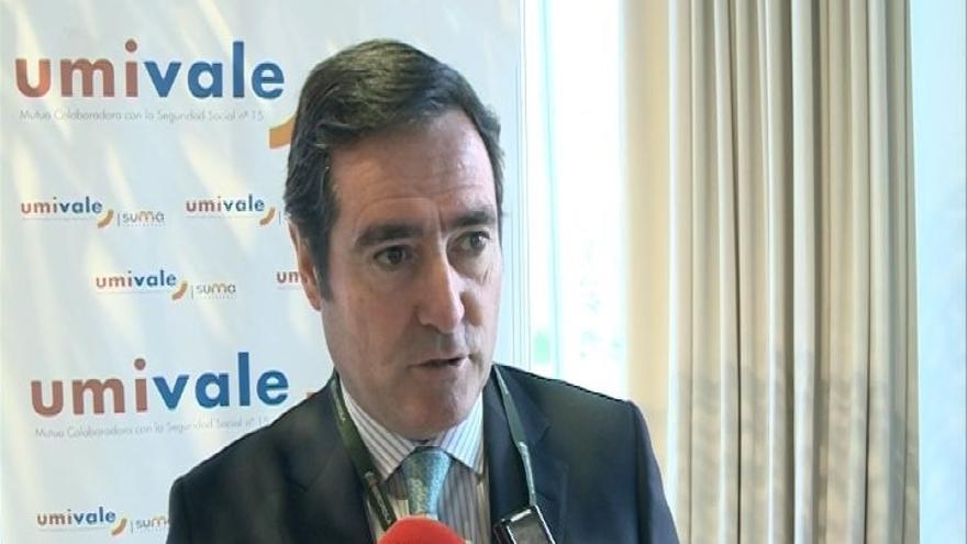 """Garamendi (CEOE) insta a los """"partidos de la moderación"""" a """"sentarse y hablar"""" porque España necesita """"estabilidad"""""""
