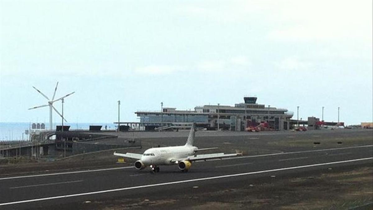 Imagen de archivo del Aeropuerto de La Palma.
