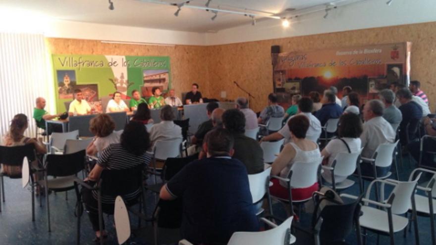 Asamblea de la Plataforma en Defensa de la Agricultura y Ganadería Ecológicas