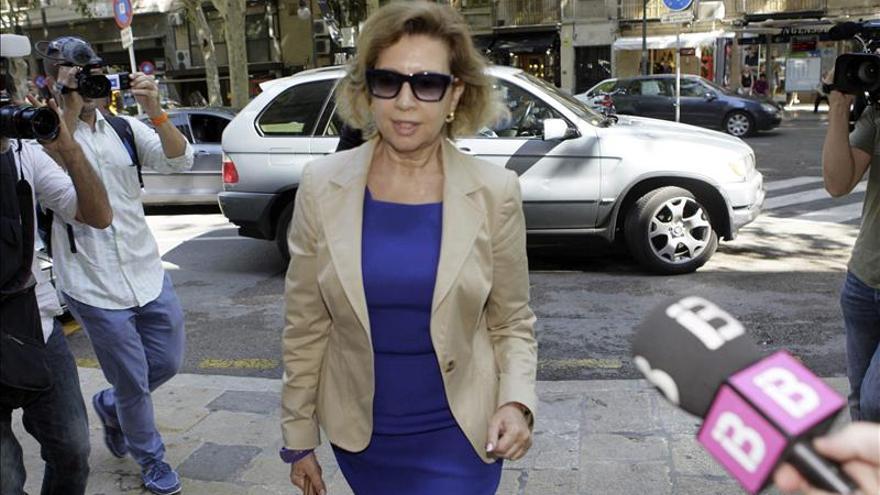 Maria Antònia Munar se niega a declarar sobre el soborno de Can Domenge