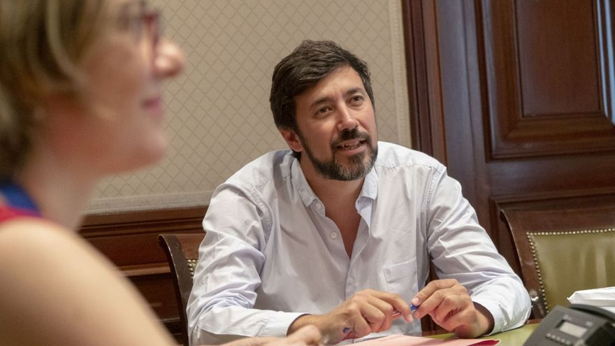 Antón Gómez-Reino, secretario general de Podemos Galicia y diputado en el Congreso