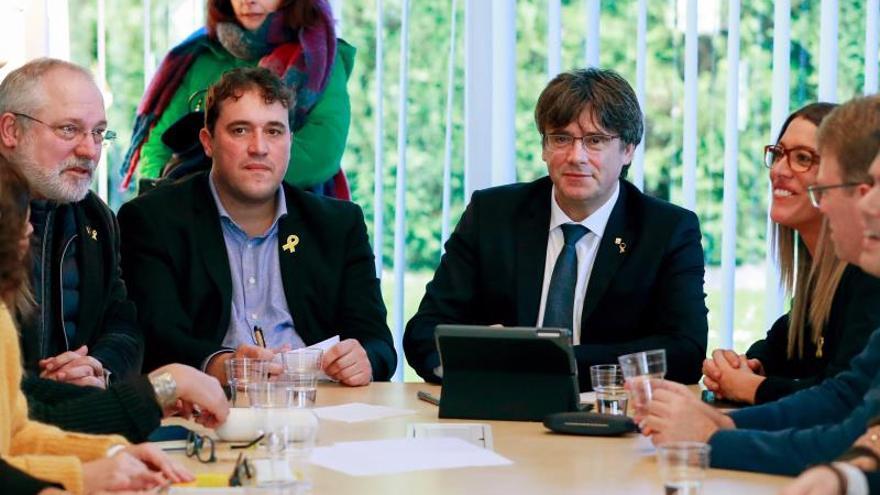 Puigdemont pide una mesa de diálogo independiente para el apoyo de la tramitación del presupuesto