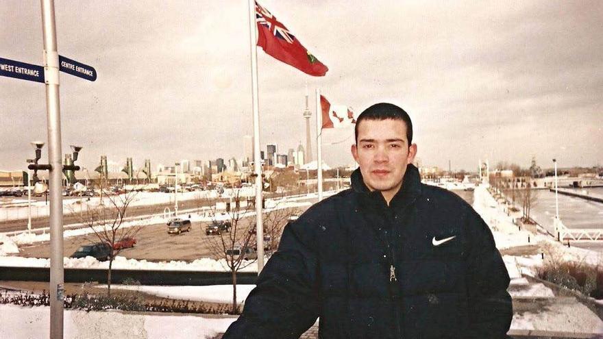 Francisco Javier Romero Astorga, el chileno de 39 años y padre de cuatro hijos que murió mientras estaba detenido por as autoridades migratorias canadienses.