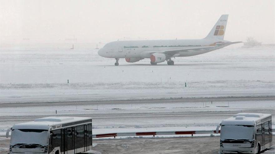 Aena activa el plan invernal en 19 aeropuertos, dotado con 2,3 millones