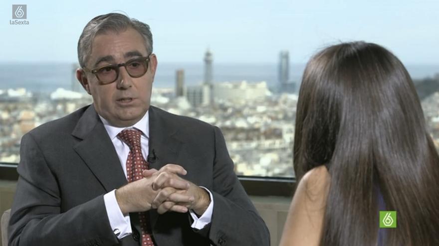 Diego Torres durante la entrevista en El Objetivo