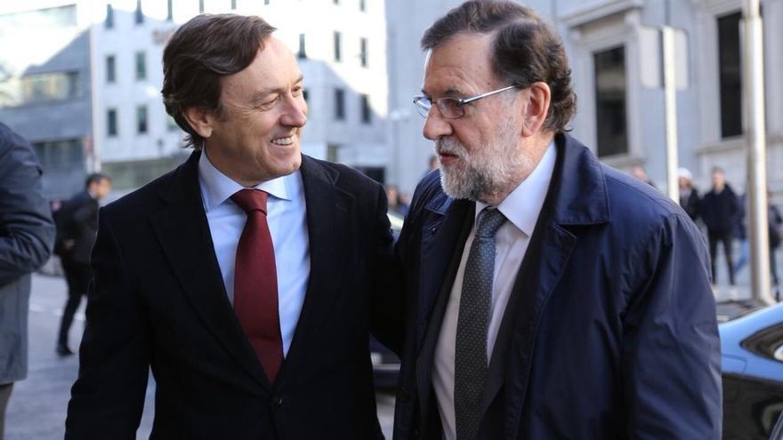 """Rafael Hernando contrapone el congreso del PP con el de Podemos, dónde están a """"botellazos"""""""